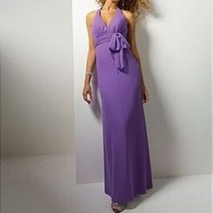 Alfred Angelo Chiffon Halter Gown NWT- Size 16